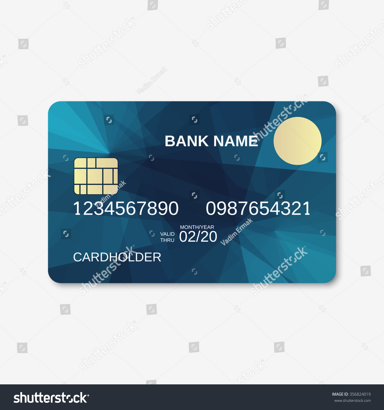 Credit Card Design Template Bank card , credit card , discount card ...