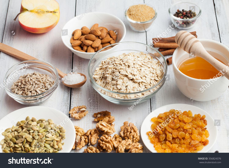 Grain Free Oat Free Paleo Granola Stock Photo (Edit Now) 356824376