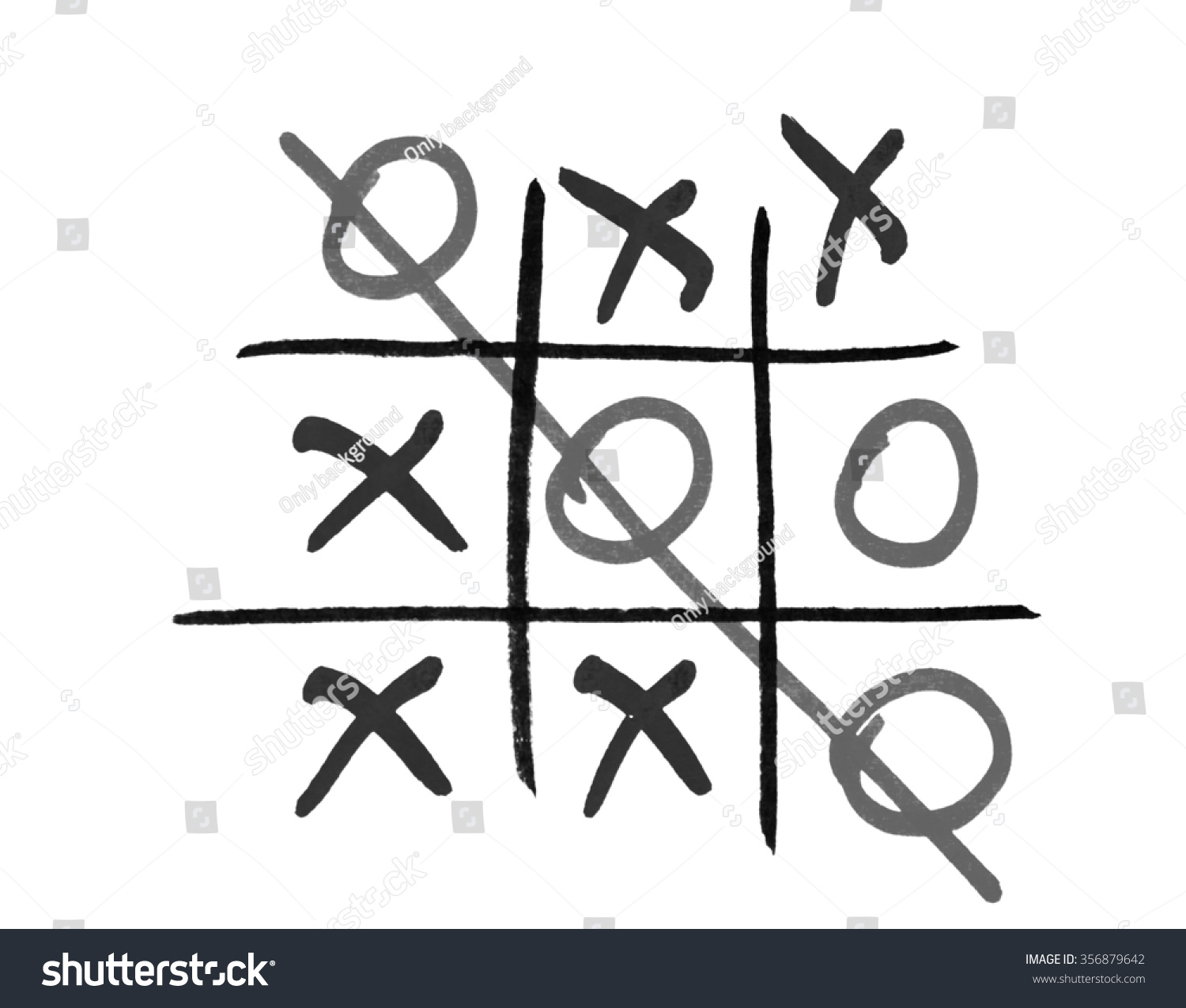Xo Game Stock Photo 356879642 - Shutterstock
