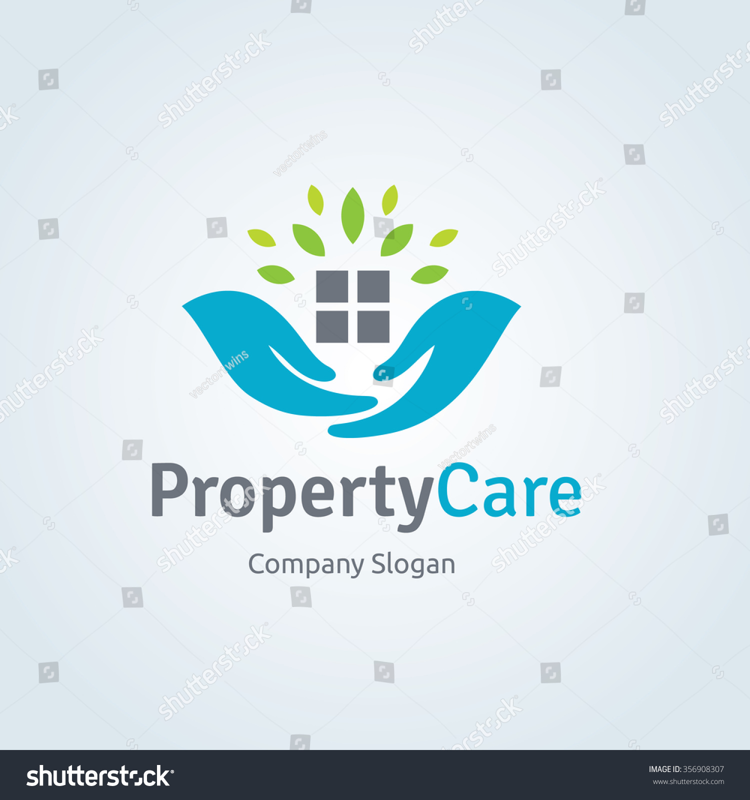 Property care logo template real estate stock vector 356908307 property care logo template real estate home and house care symbol biocorpaavc Image collections