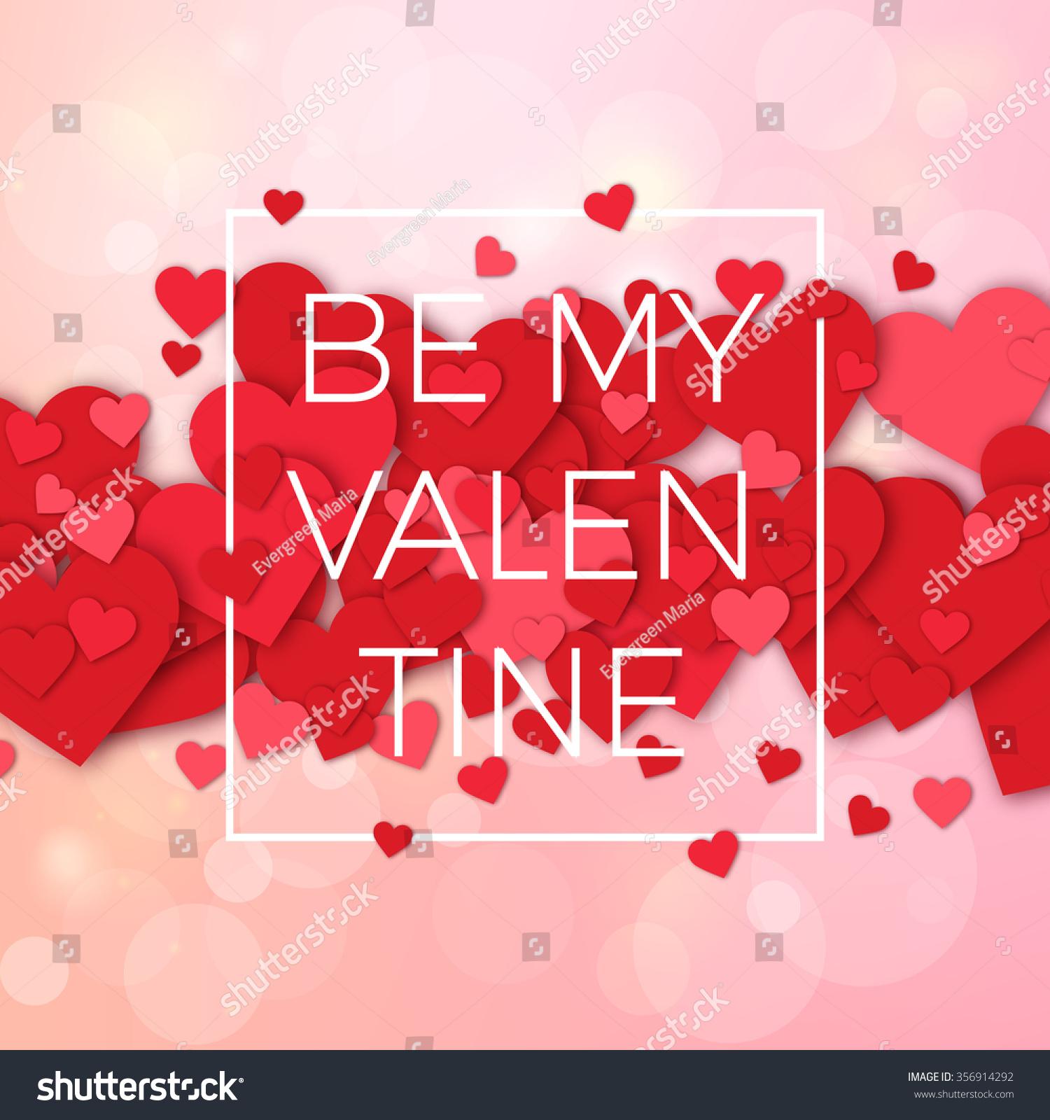 Happy Valentines Day Weeding Design Elements Stock-Vektorgrafik ...