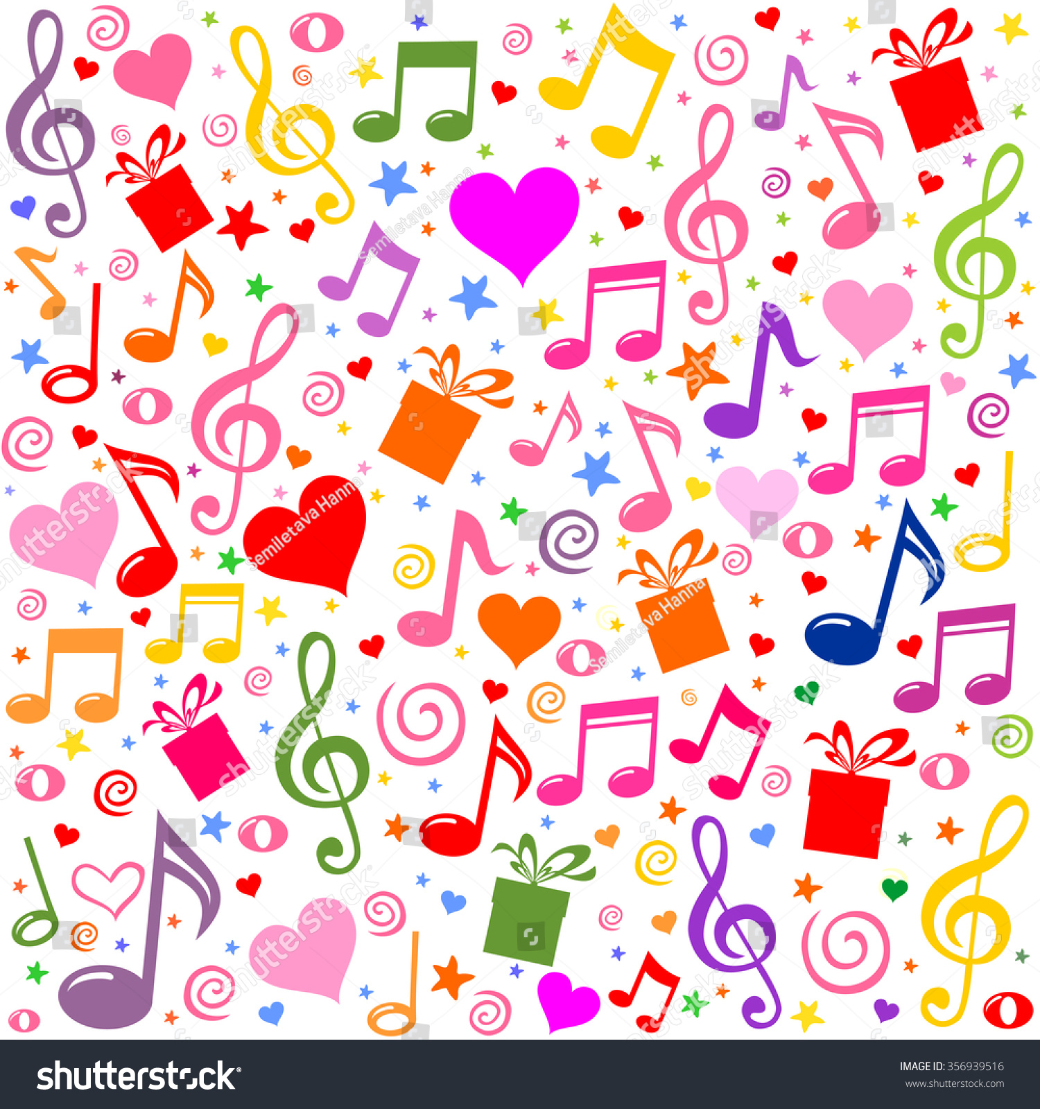 Cool Wallpaper Music Pattern - stock-vector-seamless-pattern-wallpaper-of-musical-notes-gift-box-heart-vector-illustration-356939516  Collection_244178.jpg