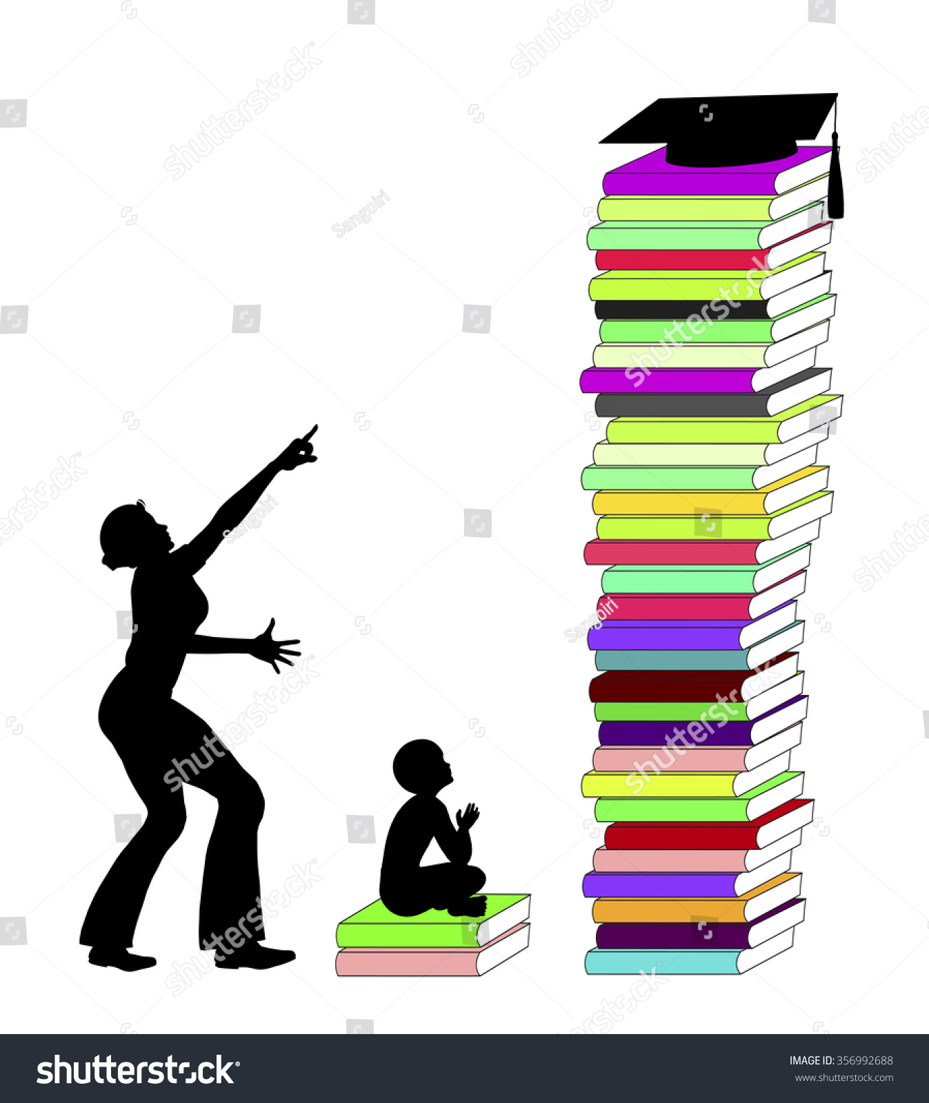 parental academic expectations mother exaggerated ambitions stock mother exaggerated ambitions for the academic career of her child