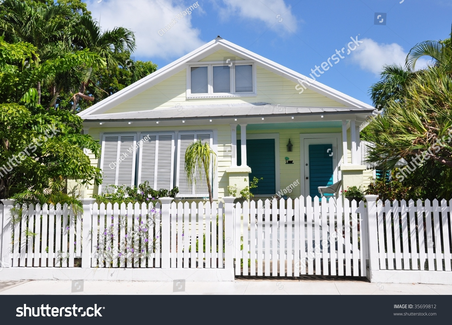 Key west style architecture stock photo 35699812 for Key west style architecture