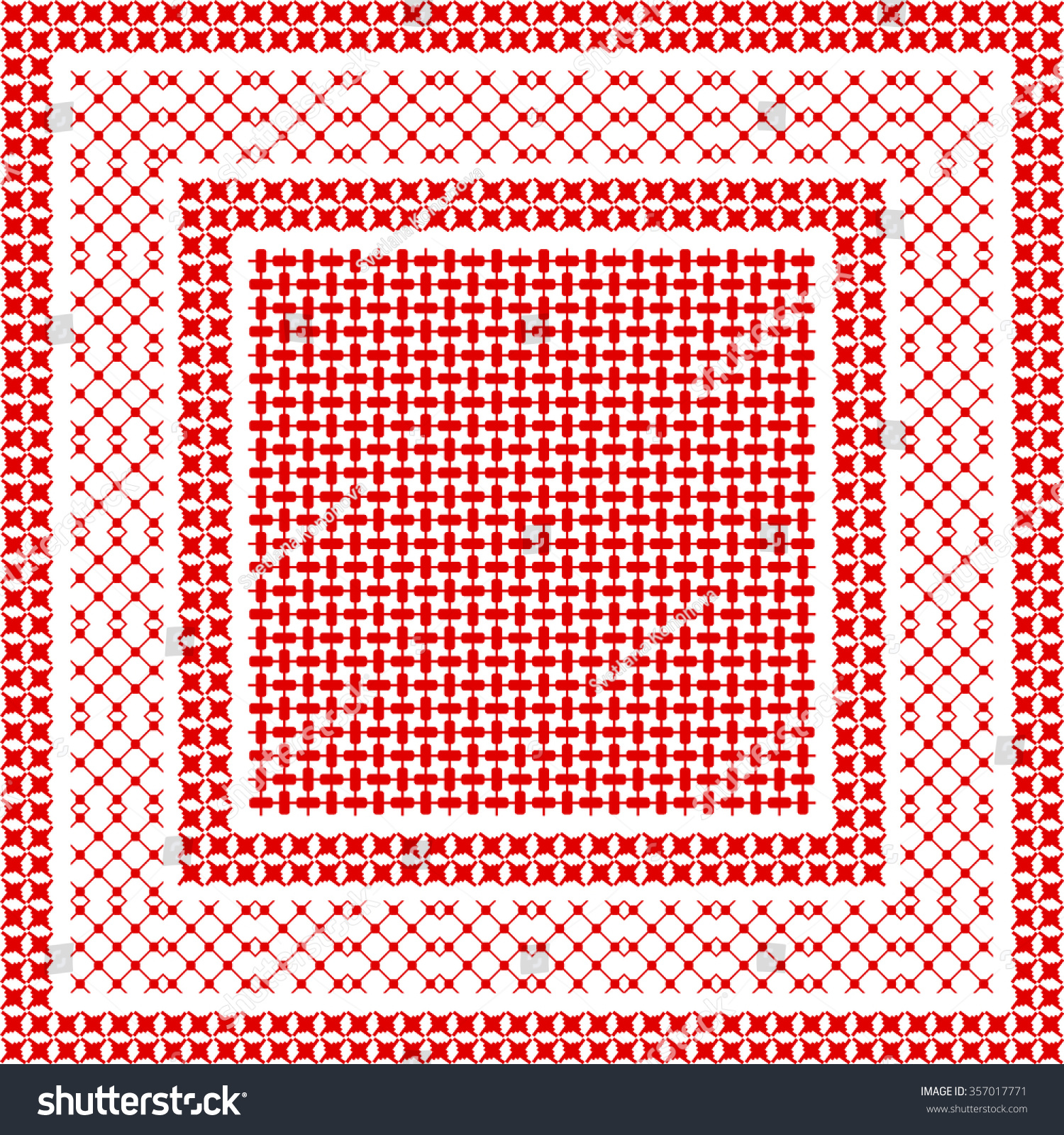 houndstooth wallpaper red