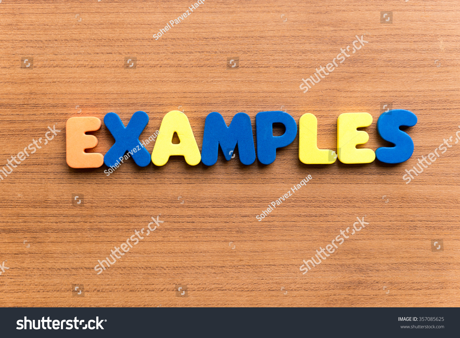 word examples