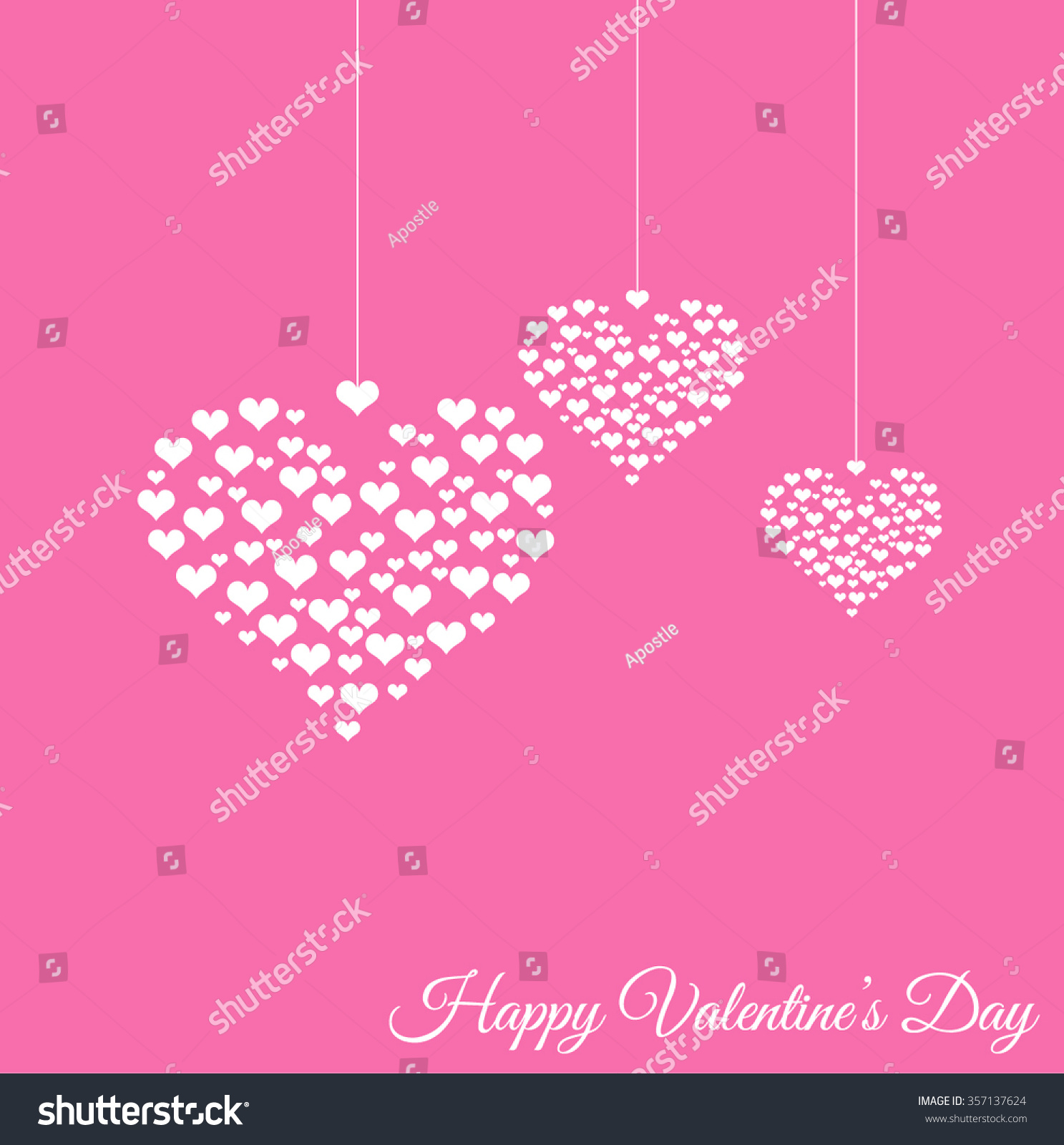 happy valentines day celebration concept with beautiful decorated heart shapes on white background happy valentines - Happy Valentines Day Text Message