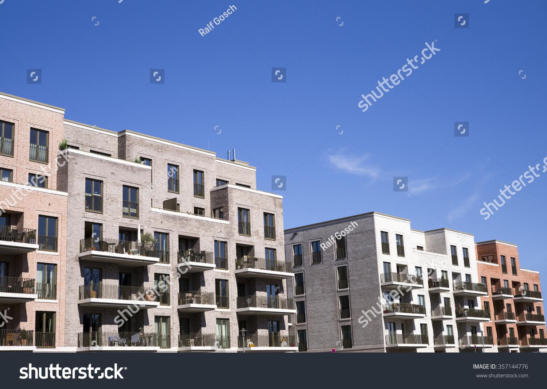Facade Of A Modern Apartment Building Stock Photo 357144776 Shutterstock