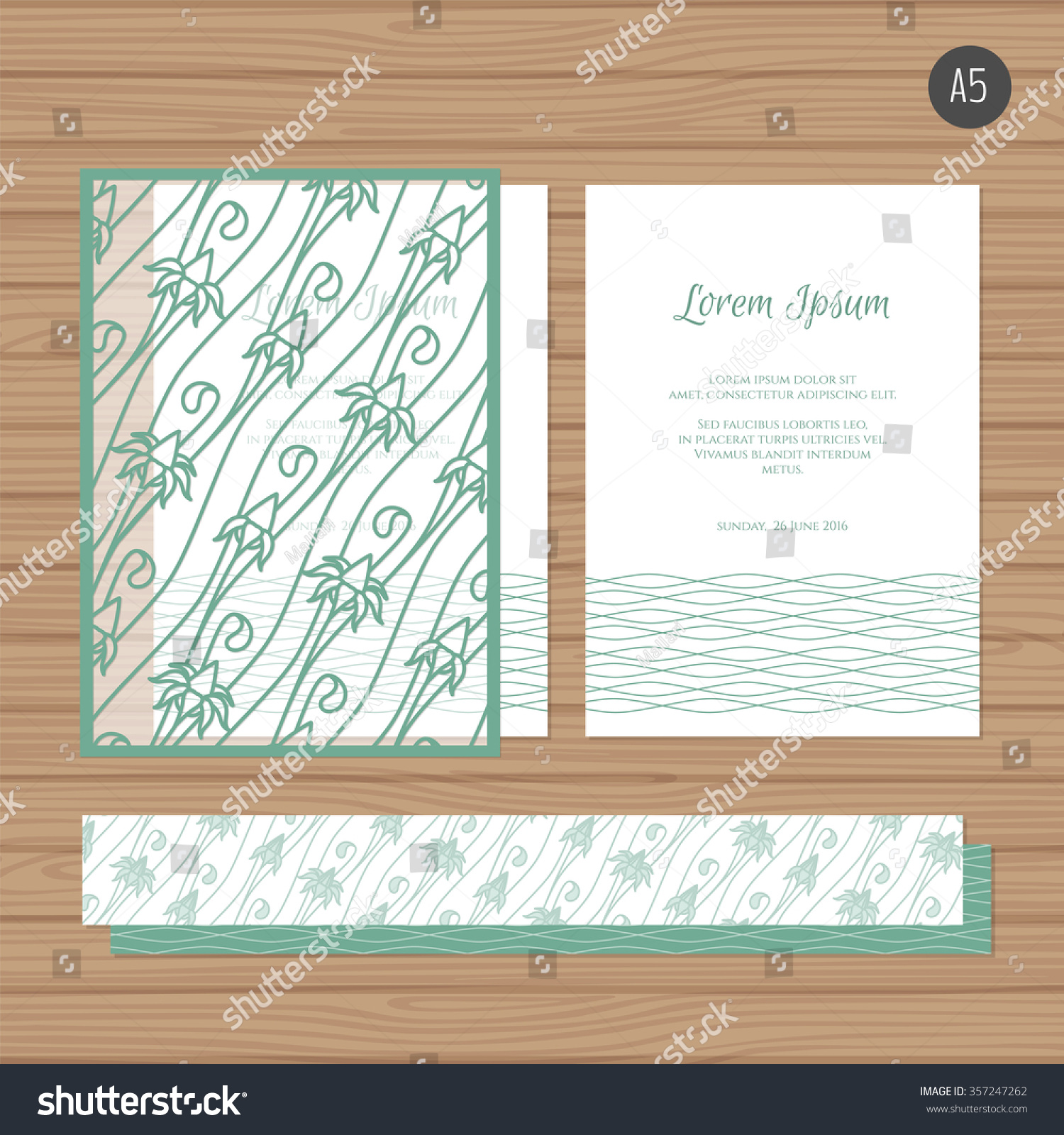 Invitation Paper Stock Images
