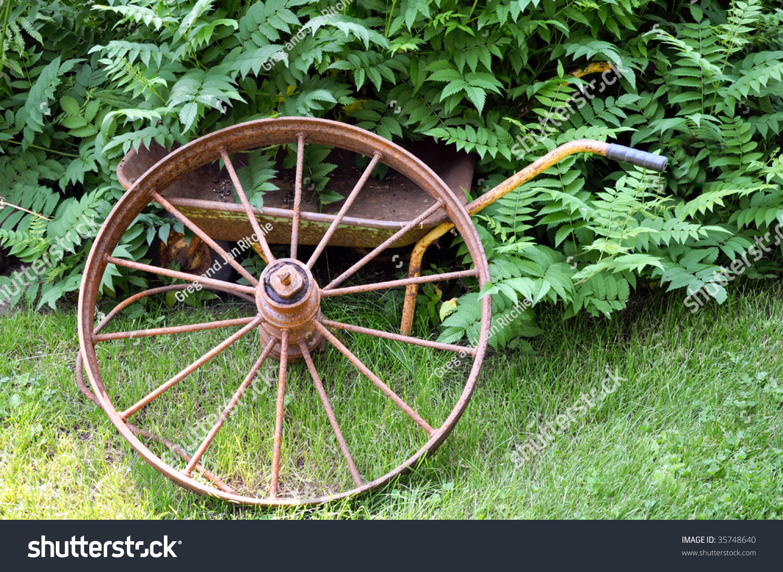Rusty Garden Tools Stock Photo 35748640 Shutterstock