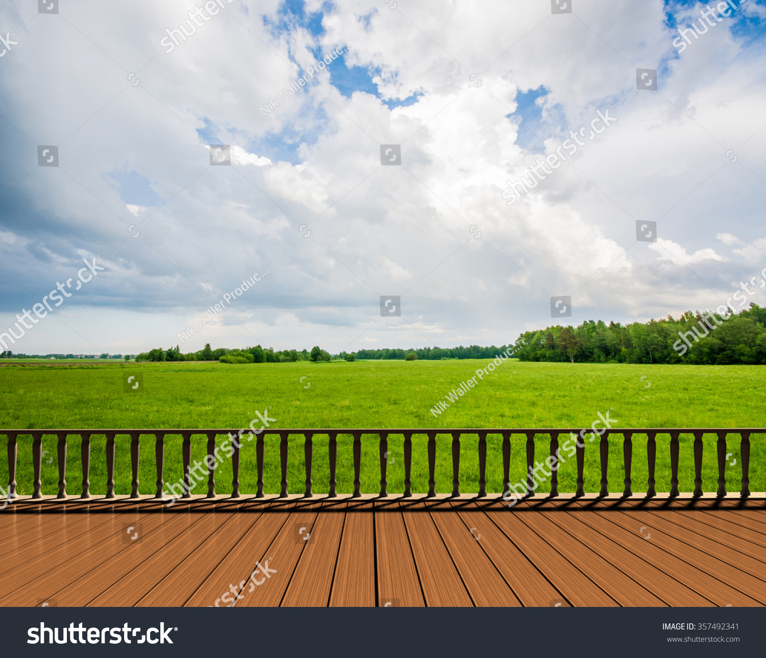 Balcony terrace green nature background green stock photo for Terrace nature