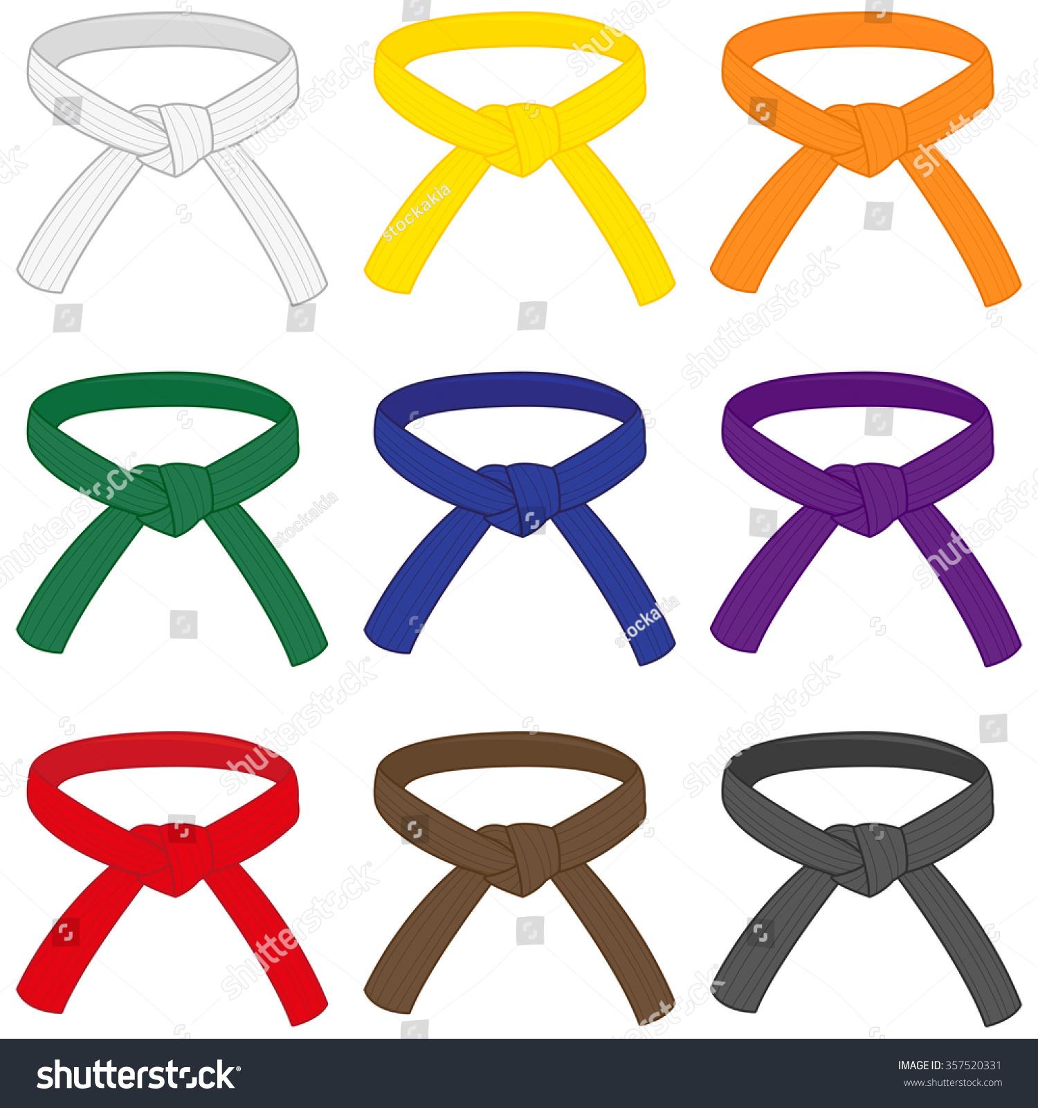 yellow belt clipart - photo #49