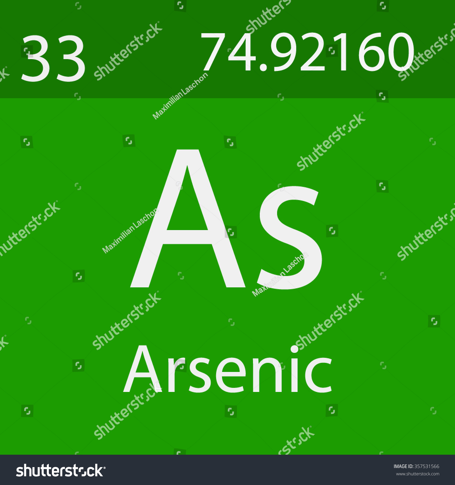 Arsenic chemical symbol stock vector 357531566 shutterstock arsenic chemical symbol biocorpaavc Image collections