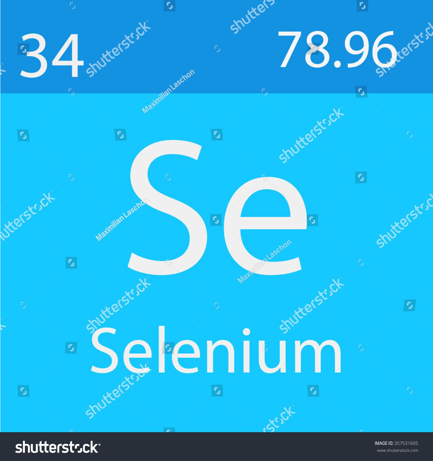 Selenium chemical symbol stock vector 357531605 shutterstock selenium chemical symbol buycottarizona