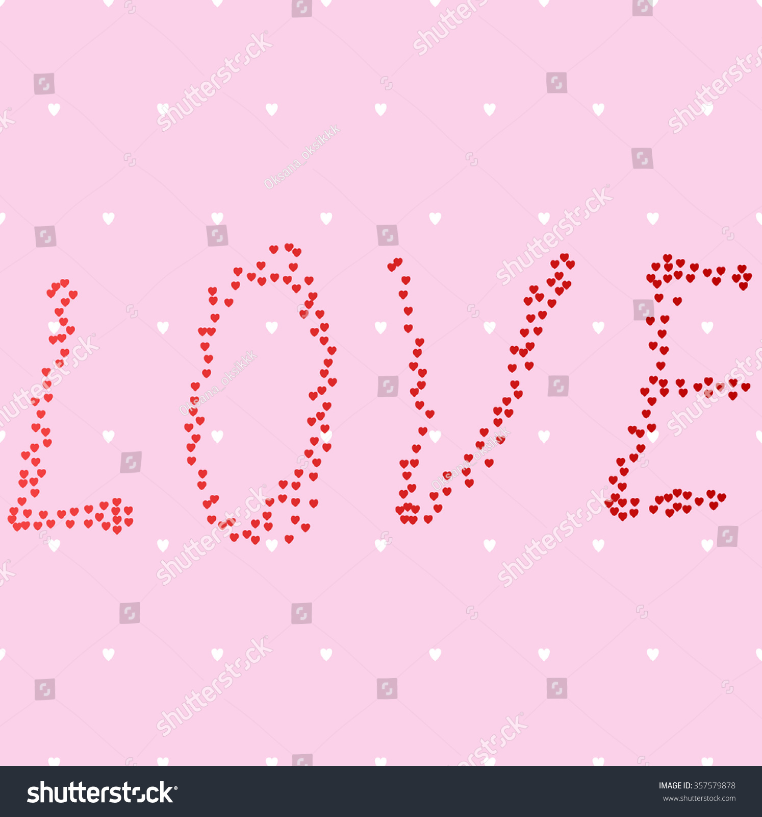 Cute love heart symbols image collections symbol and sign ideas love cute pink hearts background vector stock vector 357579878 love cute pink hearts background vector illustration biocorpaavc