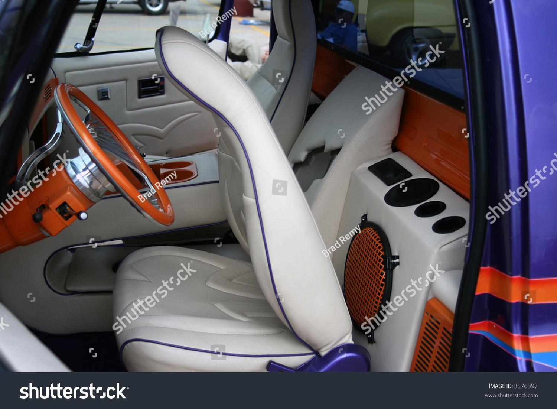 Custom truck interior design