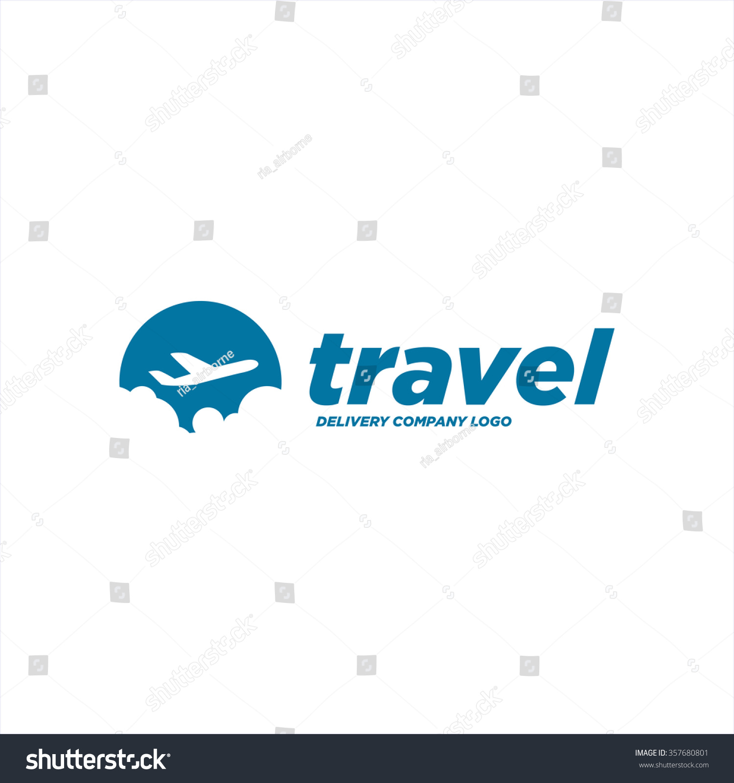 Travel Logo Template Stock Vector 357680801 - Shutterstock