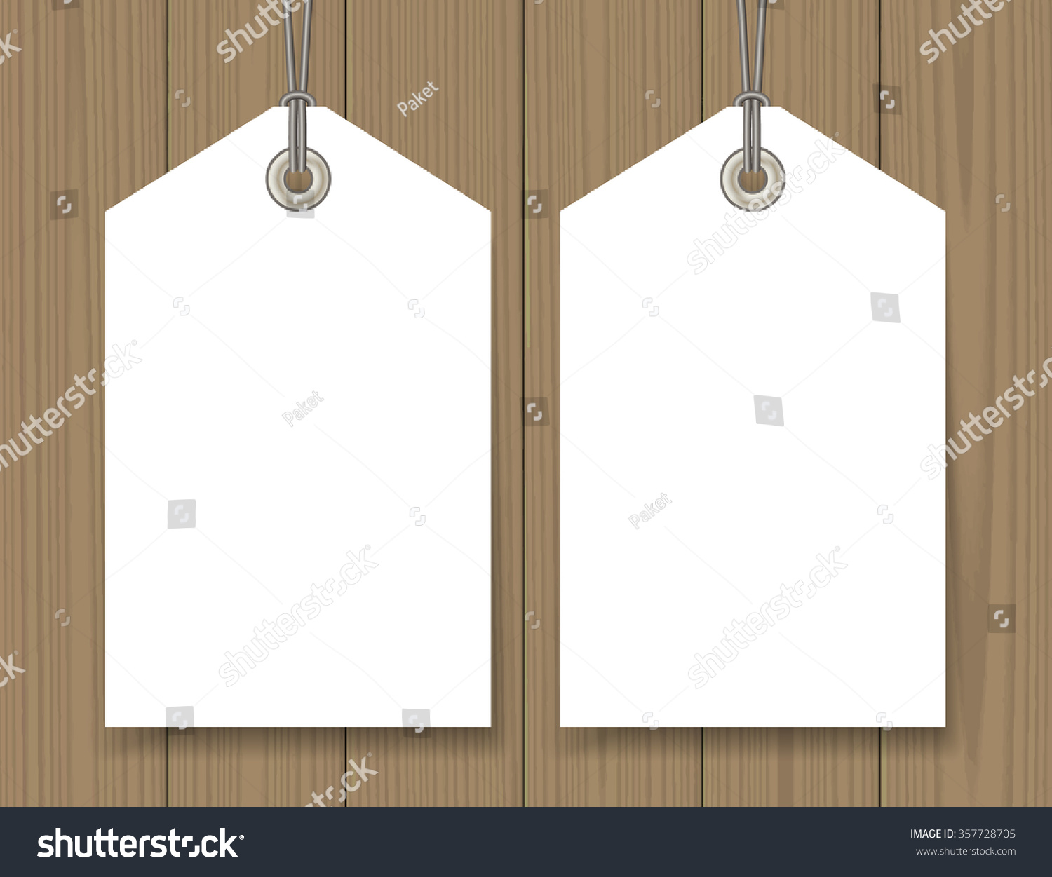 Blank Sale Tags Mock Set On Vector 357728705 Shutterstock – Sale Tag Template