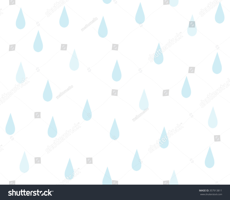 Cute Raindrop Clipart