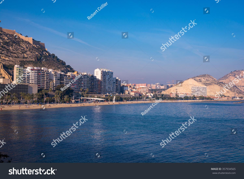 Alicante coastline stock photo 357934565 shutterstock - Stock uno alicante ...