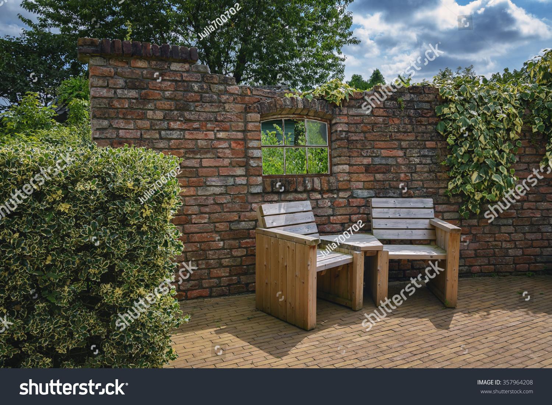 Garden Furniture Comfort Zone Garden Stock Photo (Royalty Free ...