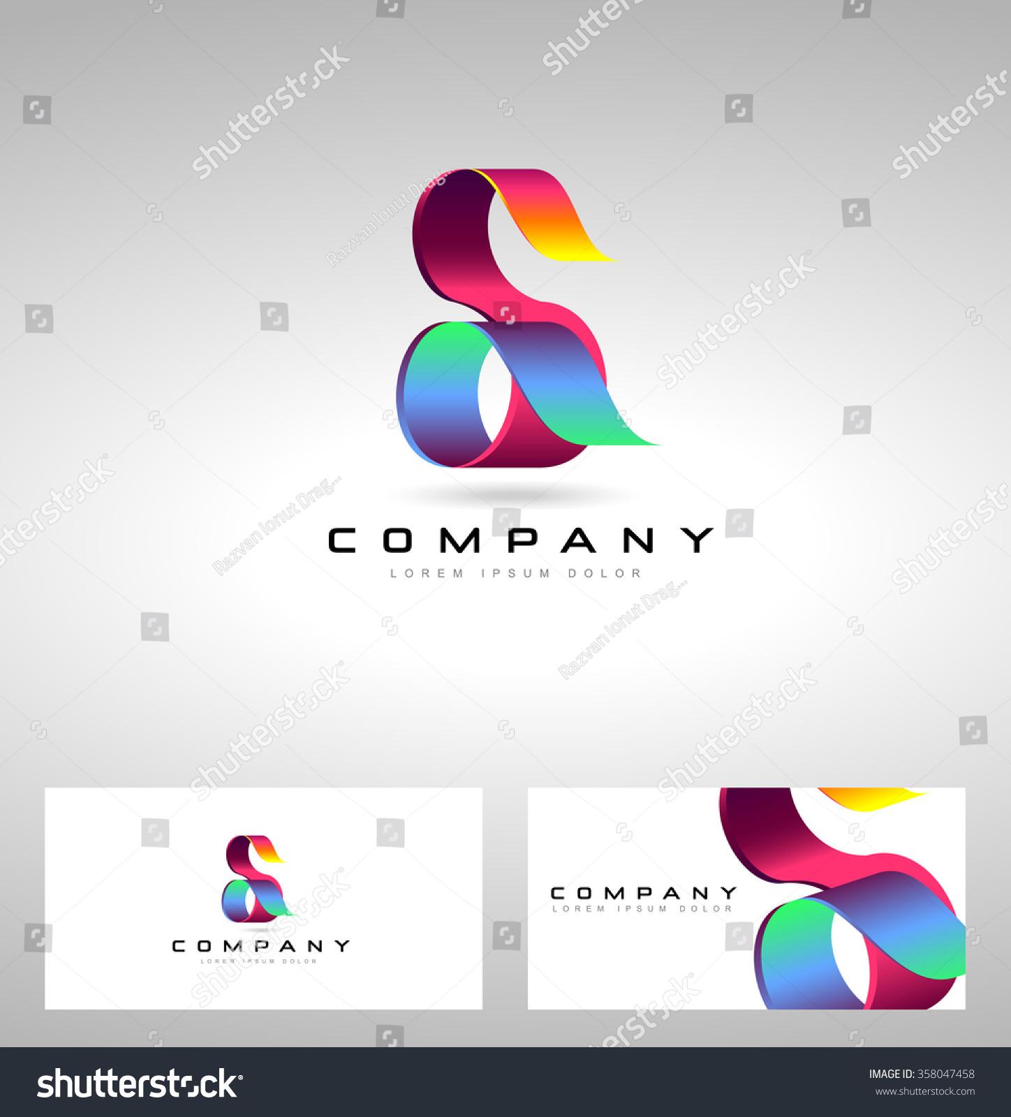 Creative S Letter Logo Design Vector Stock Vector ...