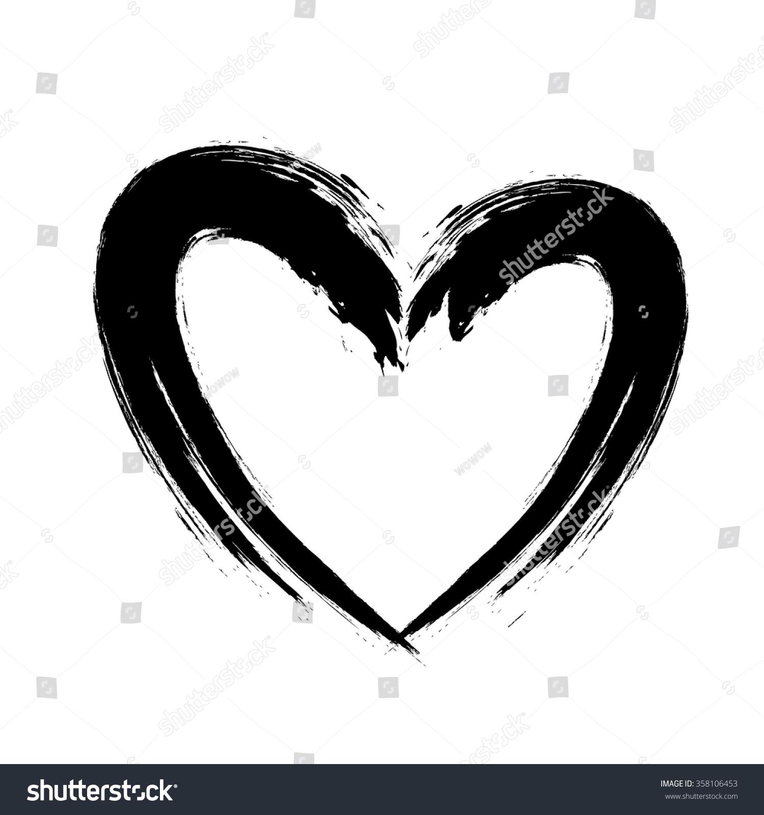 Heart shape design love symbols vector stock vector 358106453 heart shape design for love symbols vector illustration buycottarizona