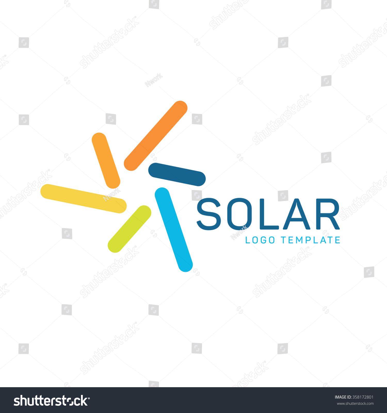 Stock Vector Solar Energy Logo Sun Energy Logo Solar Power Logo Sun Power Logo Solar Panels Logo on heating and cooling logos
