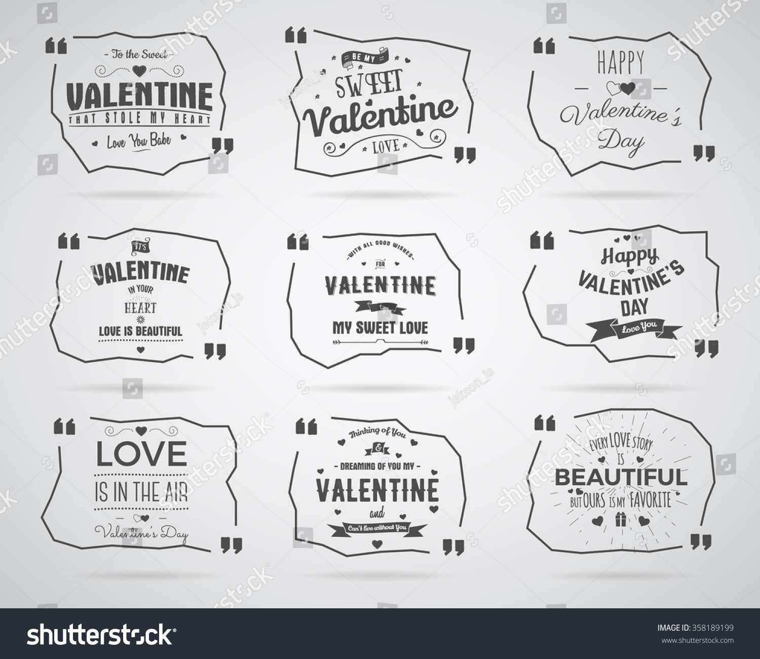valentine day watercolor ink splash quote stock vector 358189199 valentine day watercolor ink splash quote blank templates quote bubbles love quotes