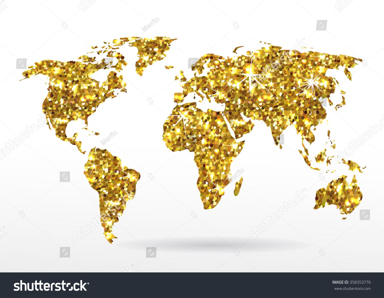 wallpaper world map gold - photo #22