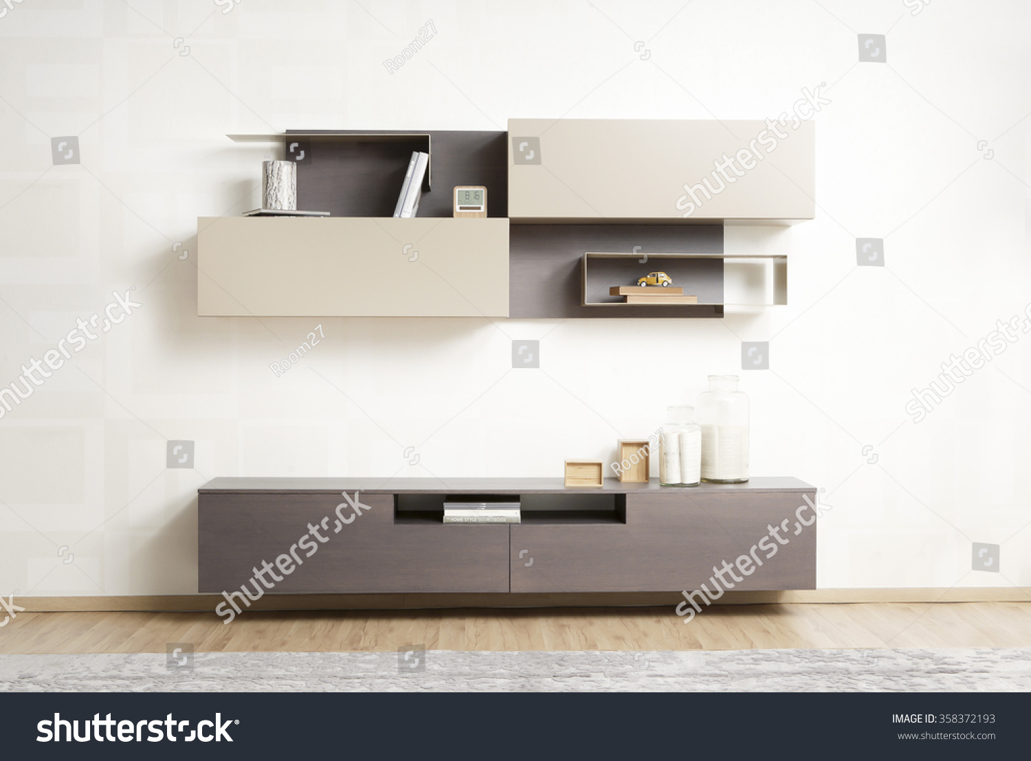 NEW FURNITURE LINE MODERN DESIGN STRAIGHT Stock Photo (100% Legal ...