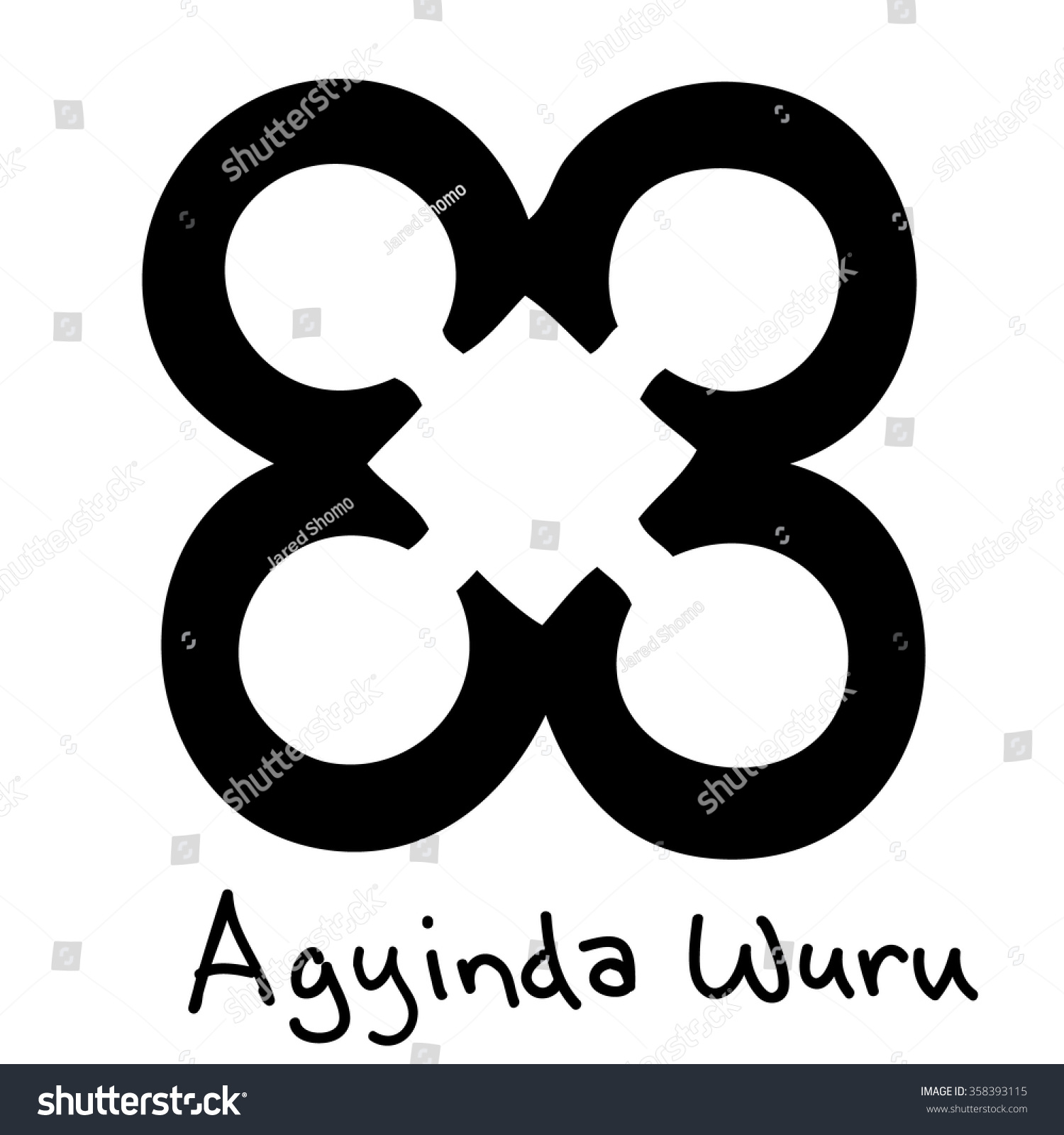African adinkra symbol agyinda wuru faithfulness stock vector african adinkra symbol agyinda wuru faithfulness loyalty dutiful biocorpaavc Image collections