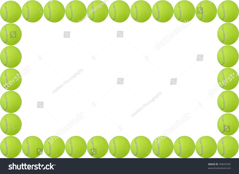 tennis balls frame easy - photo #11