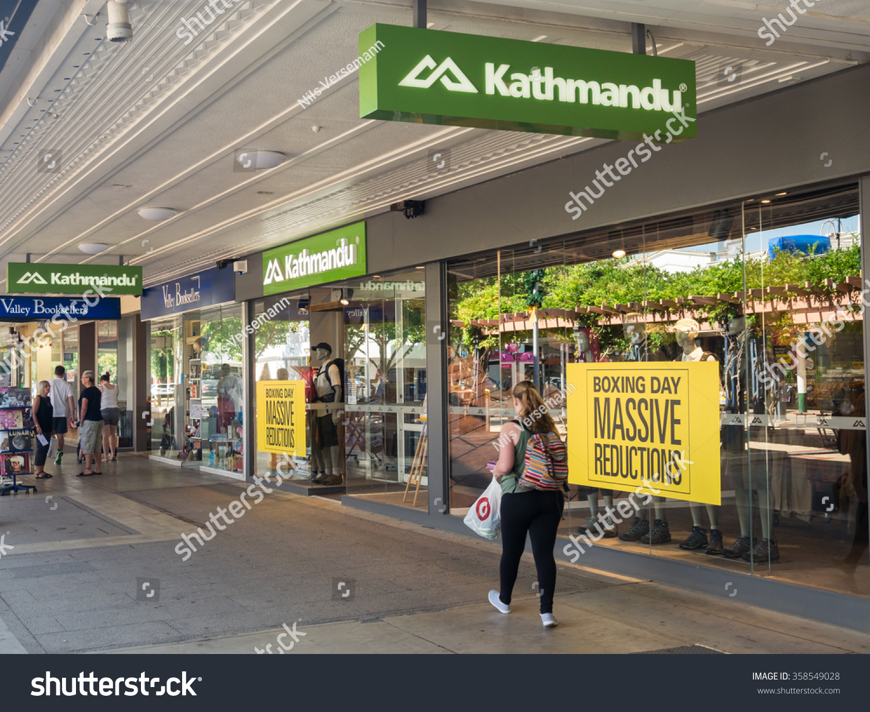 shepparton australia december 29 2015 kathmandu stock photo (edit