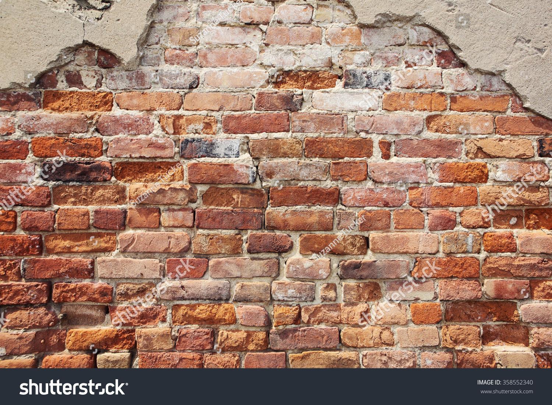 Old Crumbling Brick Wall Stock Photo 358552340 Shutterstock