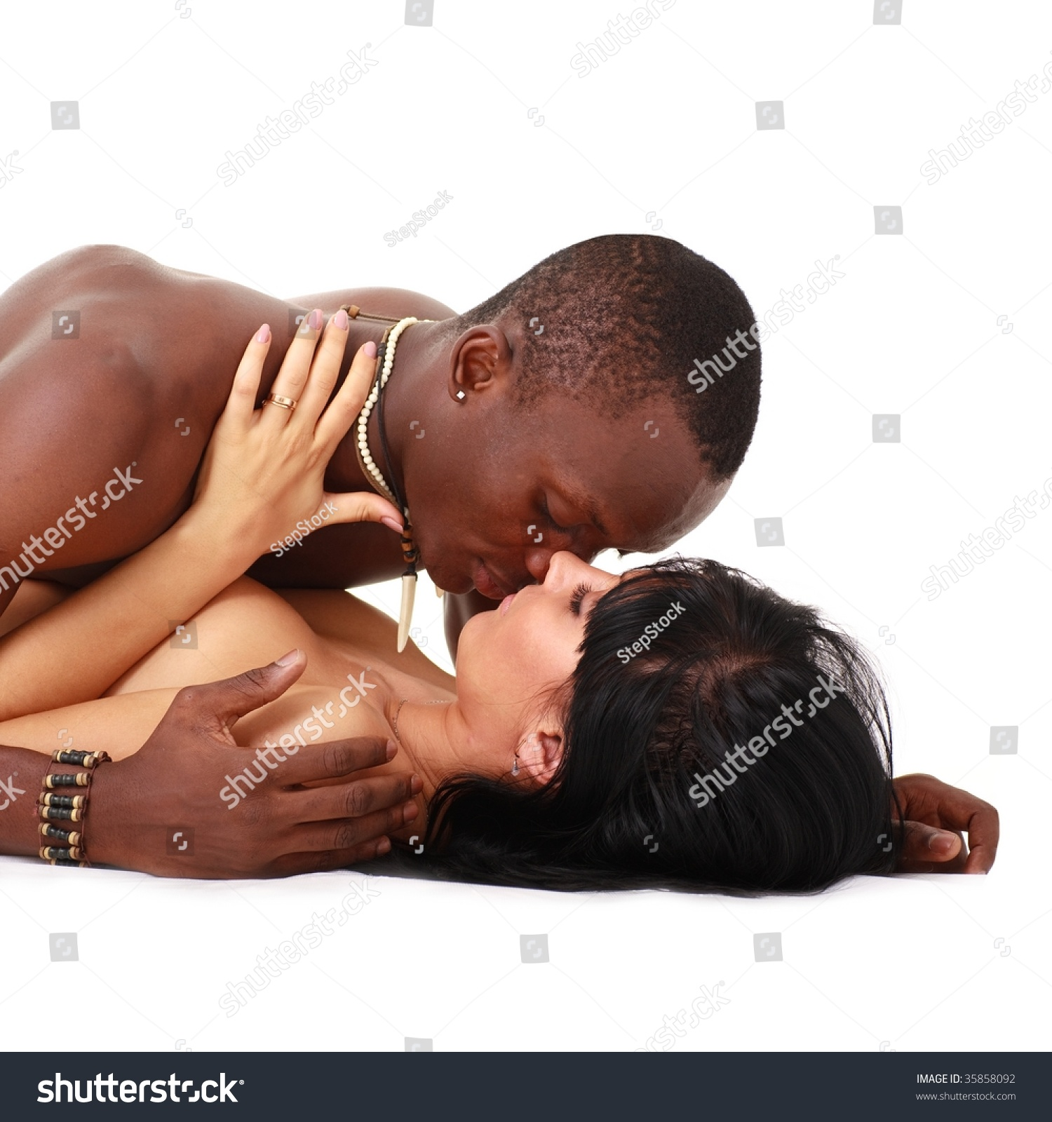 Black couple with white woman-9373