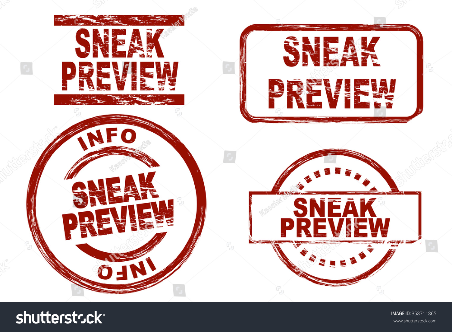 sneak preview stylized stamps term ink showing vector shutterstock music