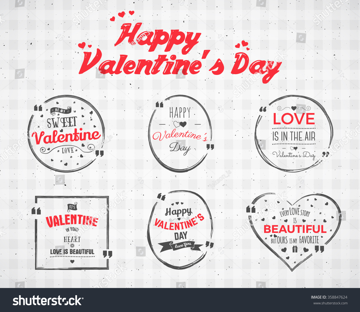 valentine day watercolor ink splash quote stock vector 358847624 valentine day watercolor ink splash quote blank templates quote bubbles love