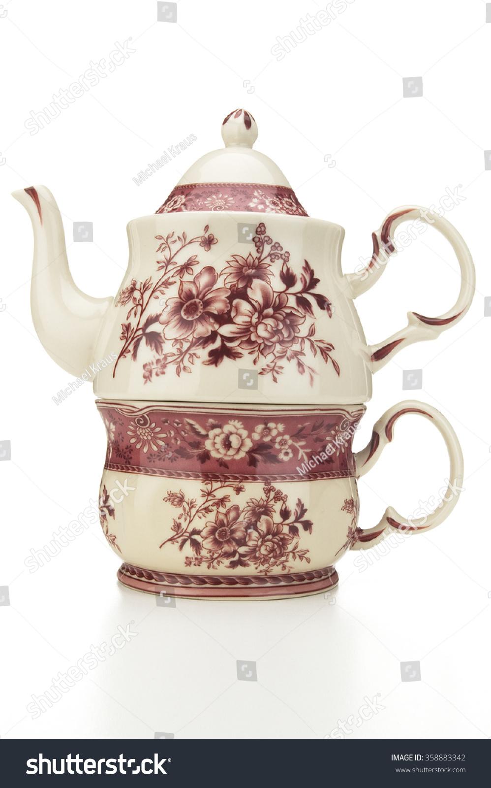 Fancy Tea Pot Stock Photo Edit Now 358883342