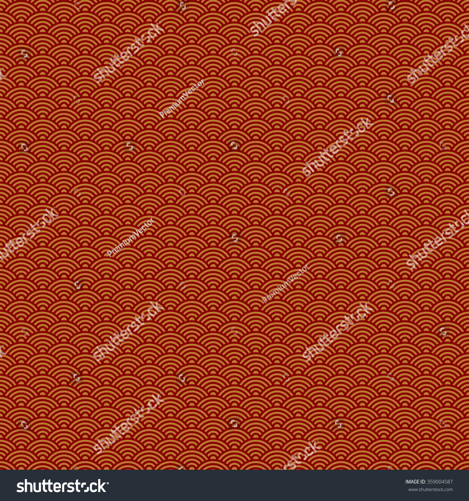 abstract chinese new year seamless pattern red background vector illustration