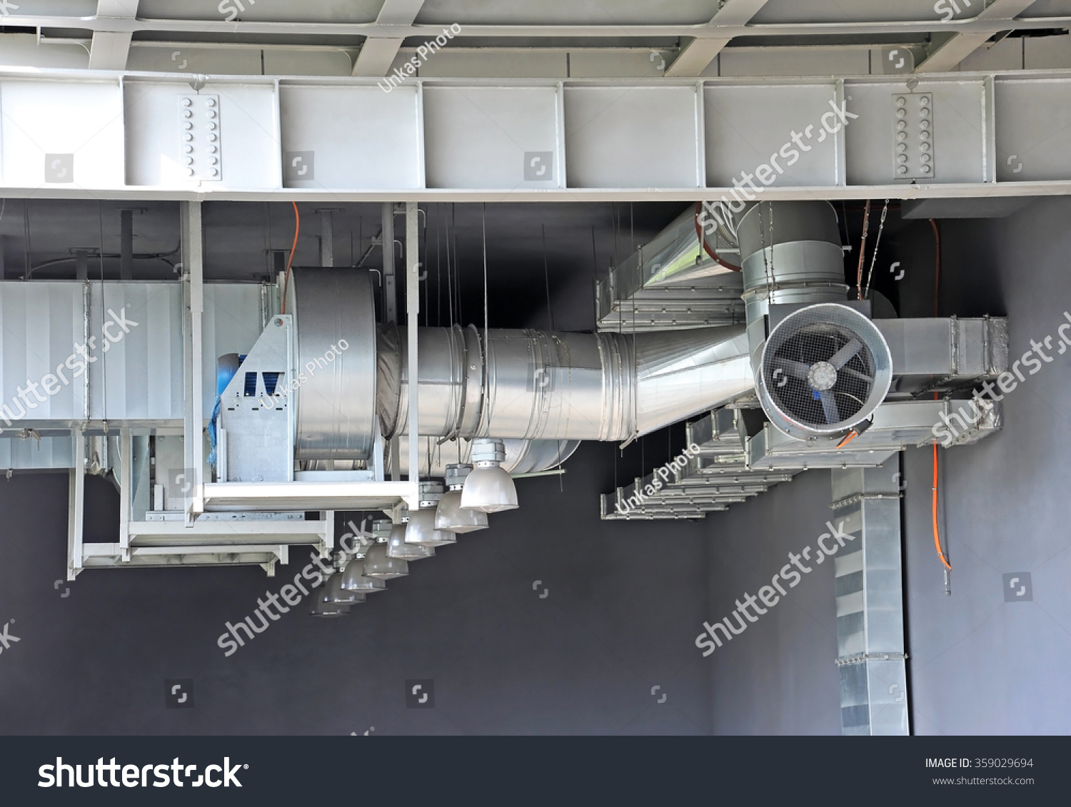 Industrial Exhaust Ventilation Systems : Industrial air conditioning ventilation systems under