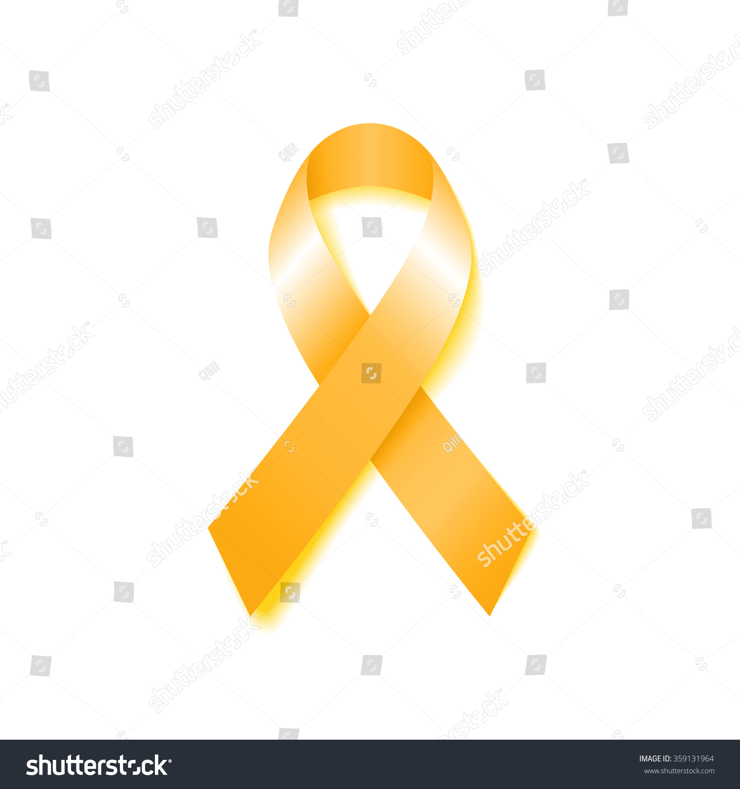 Yellow Ribbon Childhood Cancer
