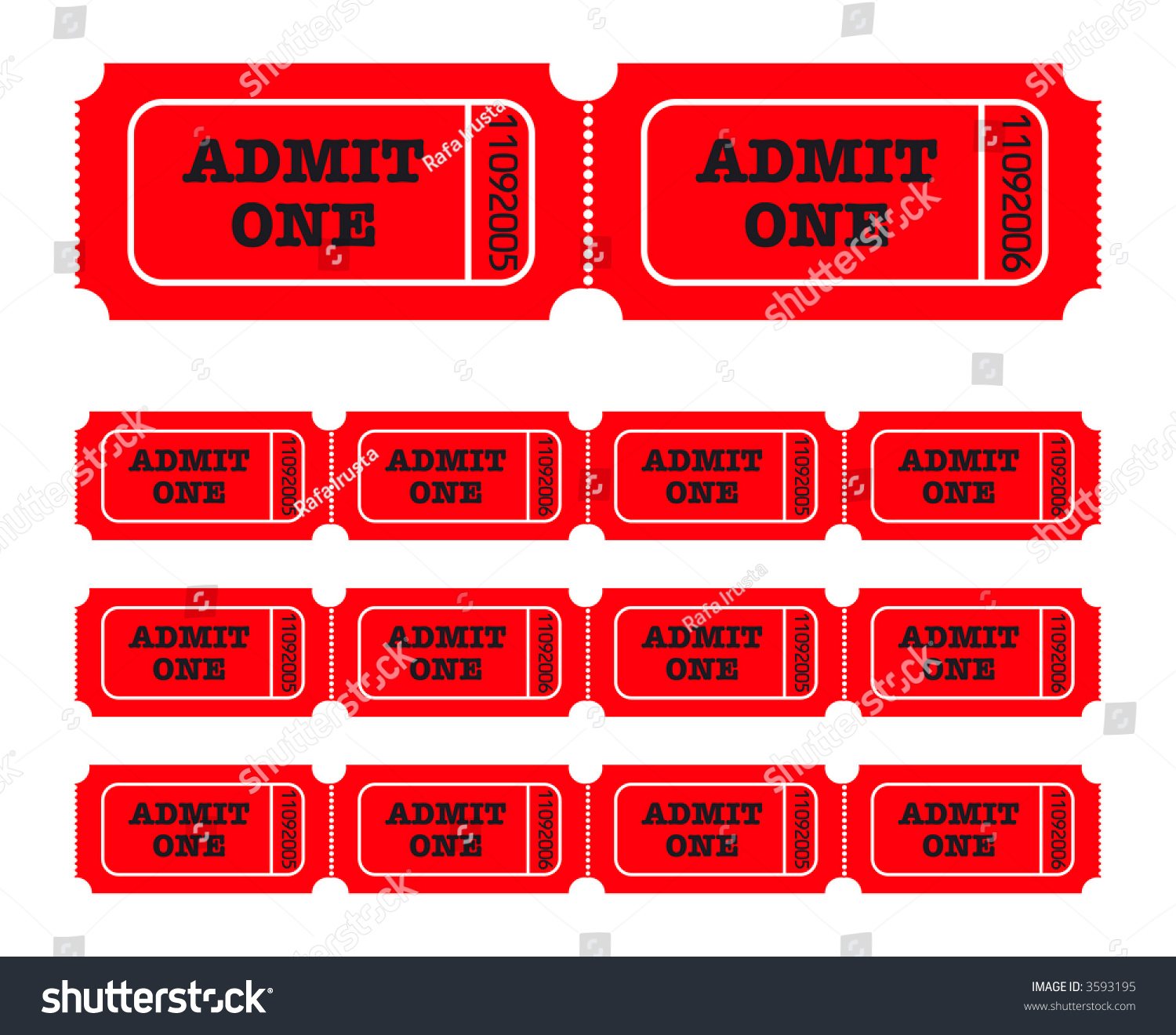 admit one template – Ticket Admit One Template