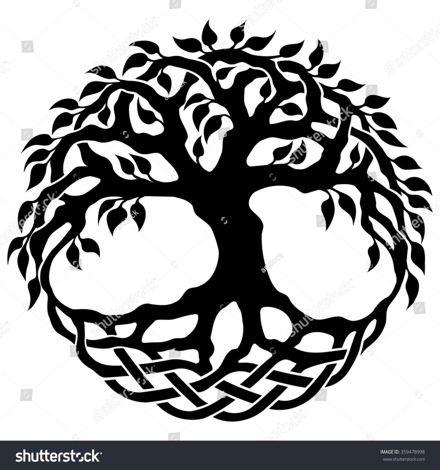 Tree of life ornament - Vector Ornament Decorative Celtic Tree Of Life