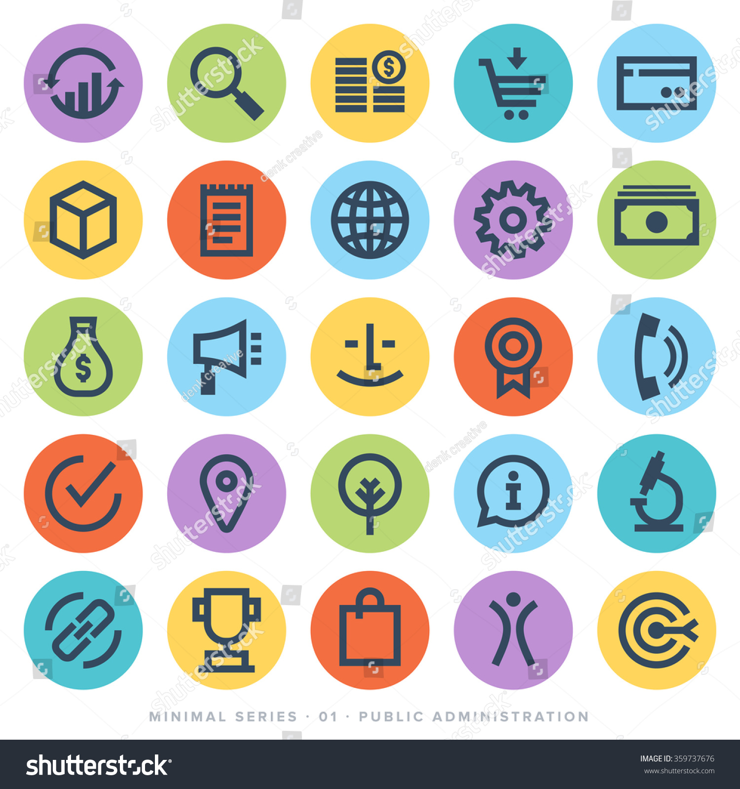 set of minimal modern black line icons business administration consumerism urban life concepts business life concepts