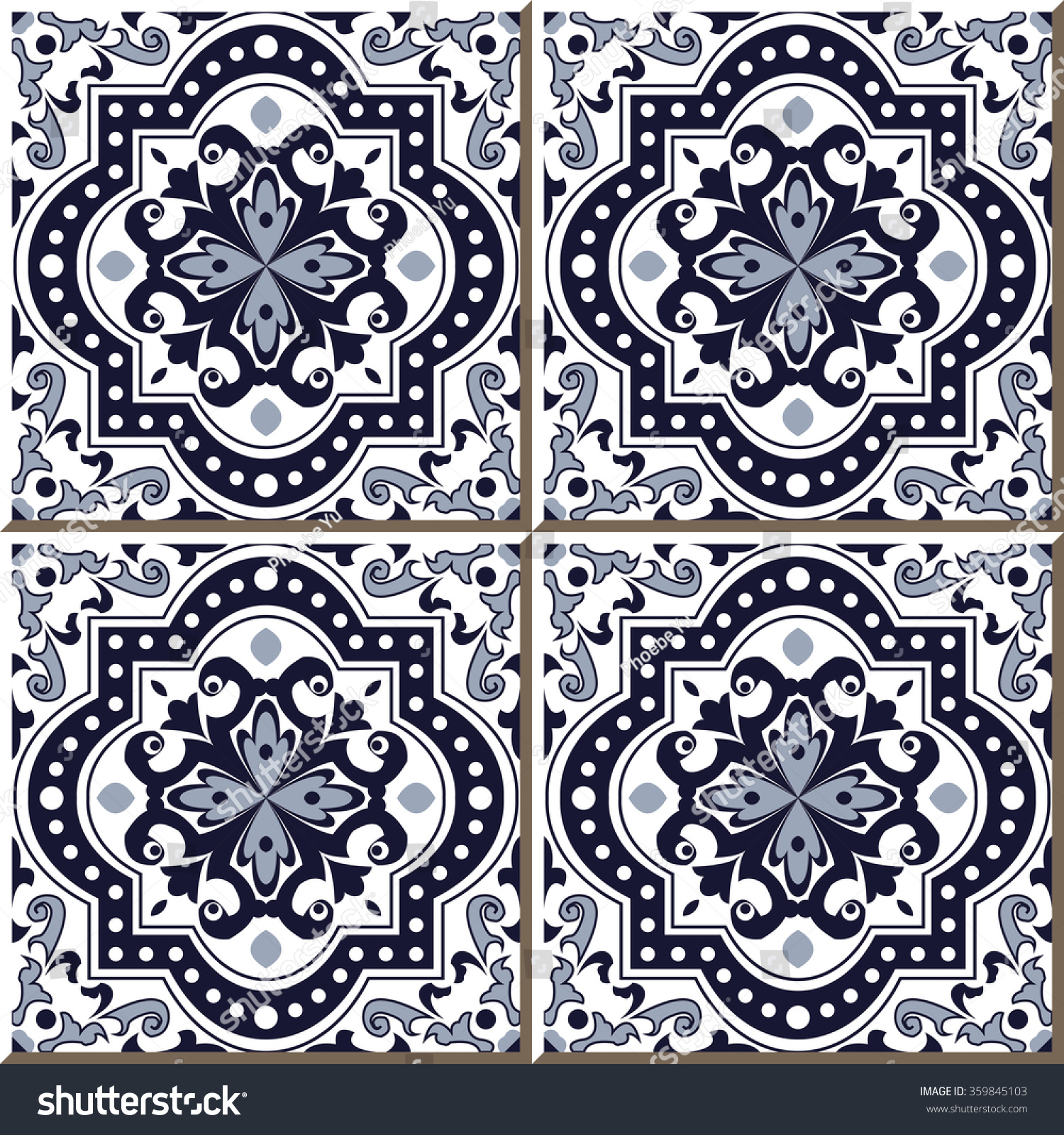 Moroccan geometric pattern royalty free stock photos image 13547078 - Moroccan Patterns Pinterest 450x470 Curve