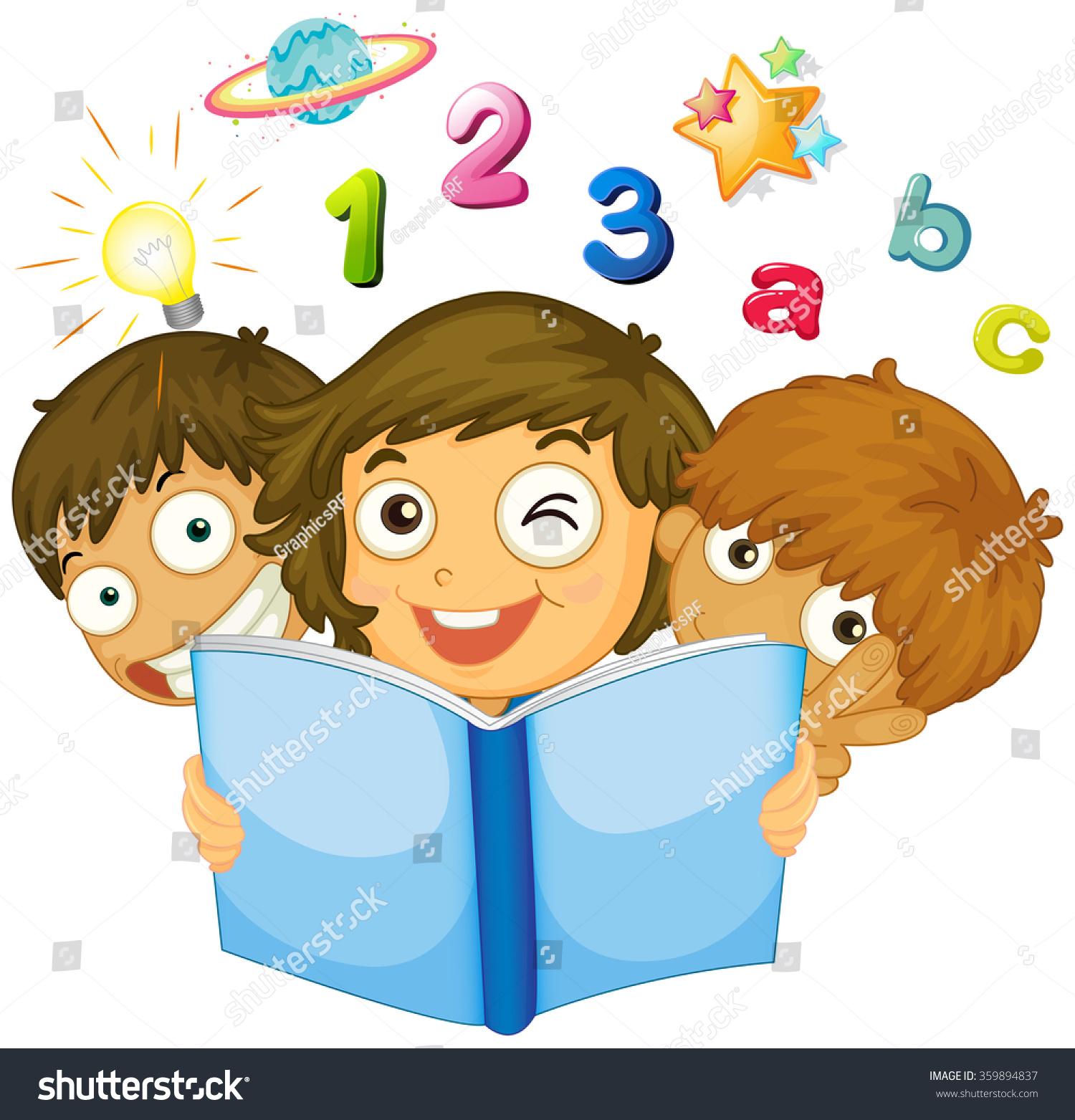 Worksheet Reading Math reading math scalien children book illustration 359894837 shutterstock