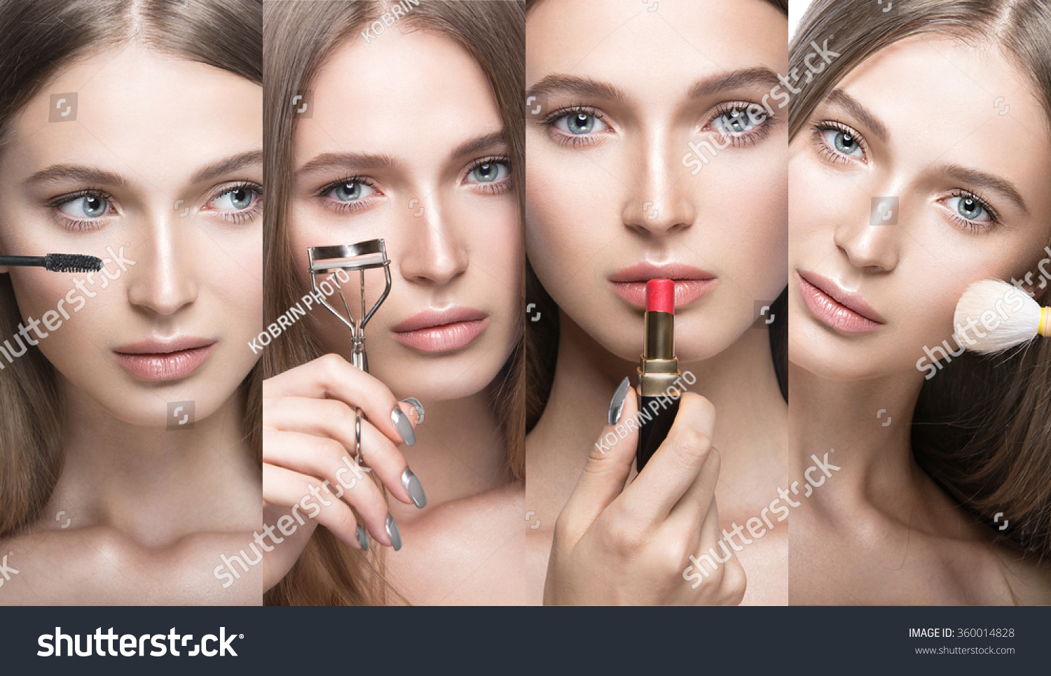 Collection Beautiful Young Girl Light Natural Stock Photo 360014828 Shutterstock