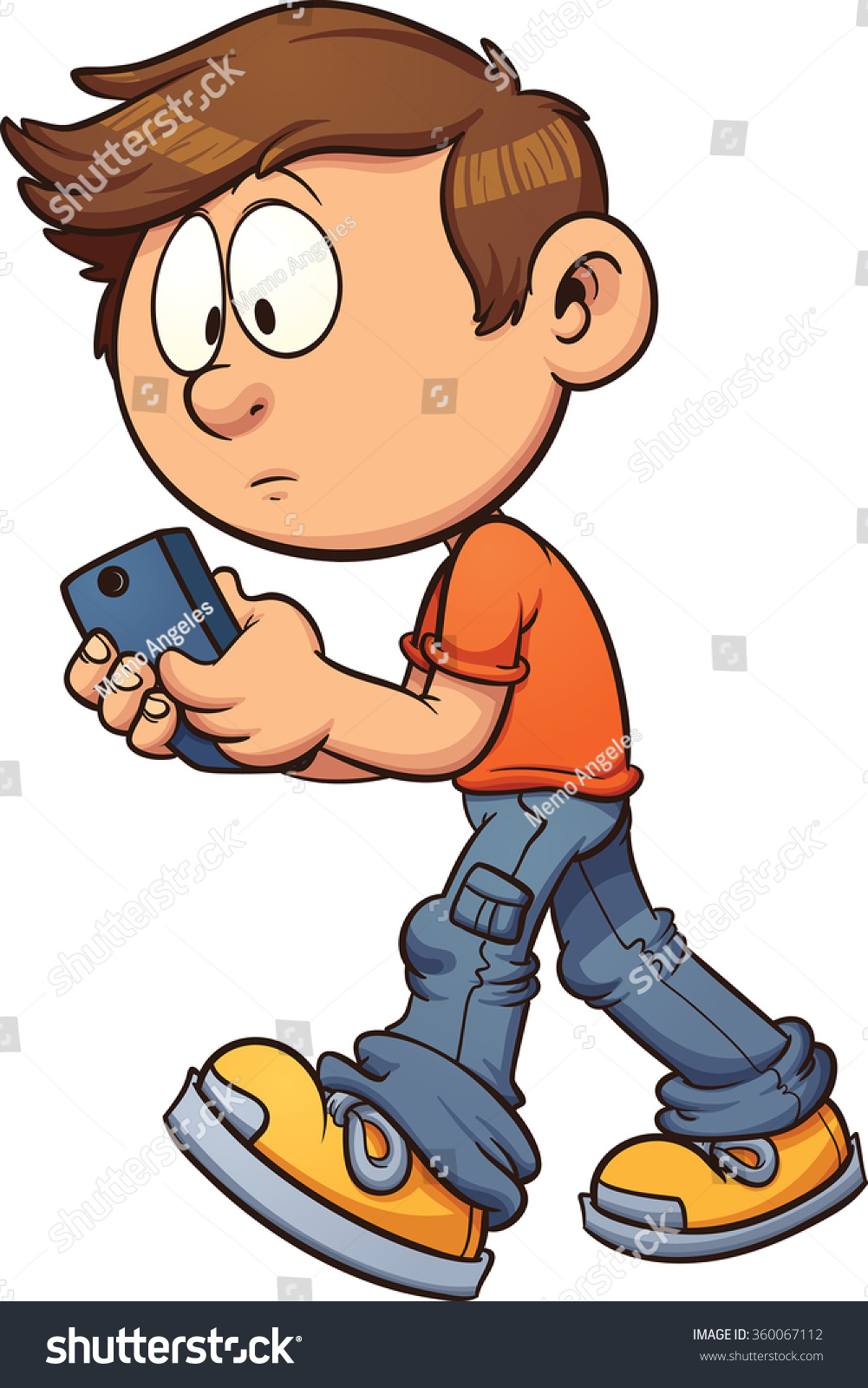 Texting Clip Art Free
