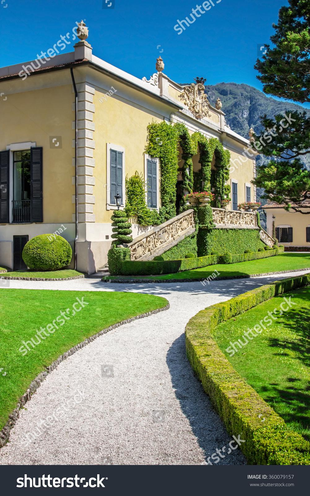 Villa balbianello italy august 02 2015 stock photo for Green italy